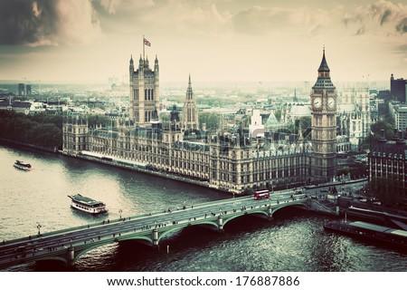 london  the uk. big ben  the...