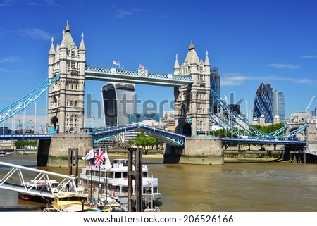 London Tower Bridge - July 3 2014 #206526166