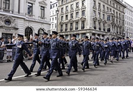 stock photo : LONDON, UK - JULY 3: The Gay Pride Parade Passes Through