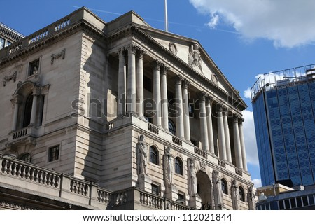 London, United Kingdom - Bank of England building