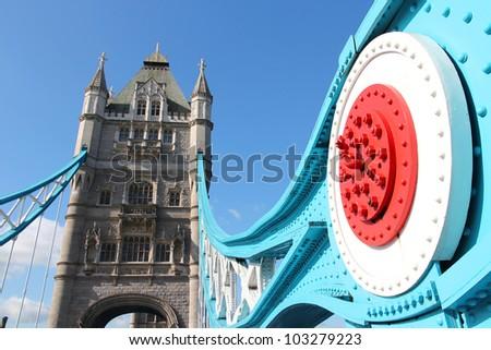 London, United Kingdom - famous Tower Bridge. Old landmark.