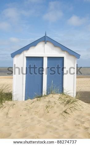 Lone Beach Hut, Southwold