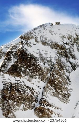 Lone Peak - stock photo