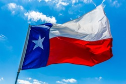 Lone Star Flag of the State of Texas, USA