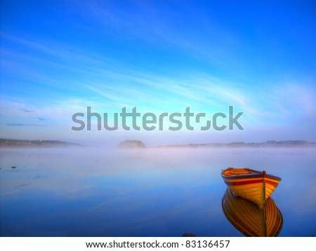Lonely boat #83136457