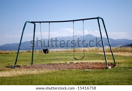 Lonely Swing-set