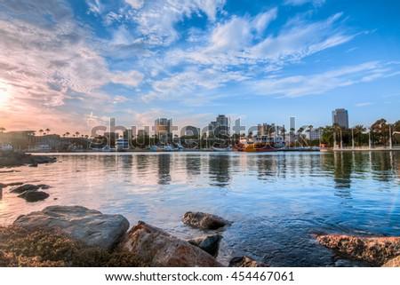 Long Beach Harbor #454467061