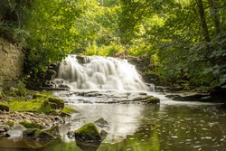 Long Exposure Goit Stock Waterfall is a stunning hidden gem tucked at Harden, in west Bradford.