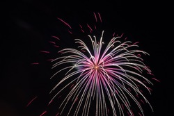 Long exposure pictures of Fireworks on the 4th of July in Oregon!