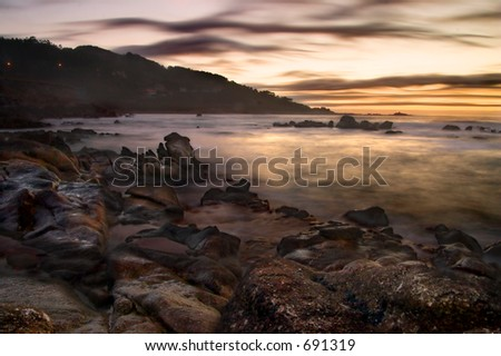 Long exposure shot taken in the coast of Galicia (Spain)