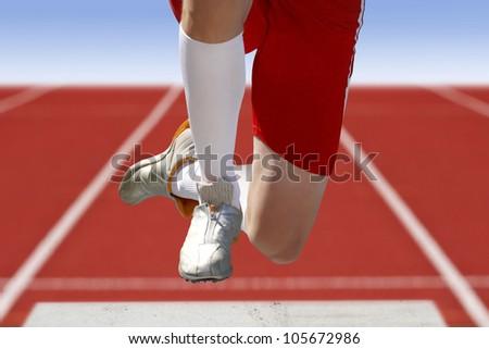 long jumper sand box