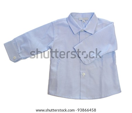 Long sleeved baby boy shirt