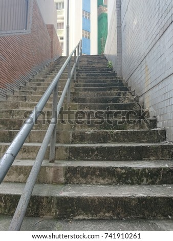 Long stairs #741910261