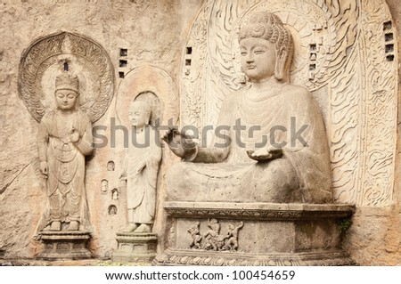 Longmen Buddha Statues