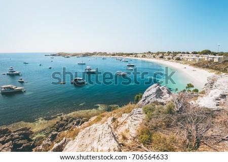 Longreach bay on Rottnest Island near Perth #706564633