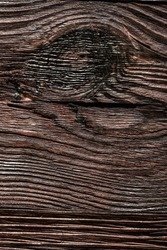 Longstanding brown natural wooden background.