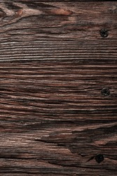 Longstanding brown natural wooden surface.