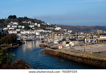 Looe, Cornwall - scenic Cornwall, west of England