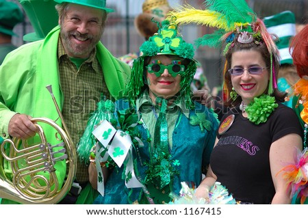 Look! Green partners in St.Patrick parade! 2006