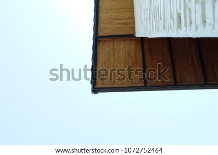 Look up Roof corner house #1072752464