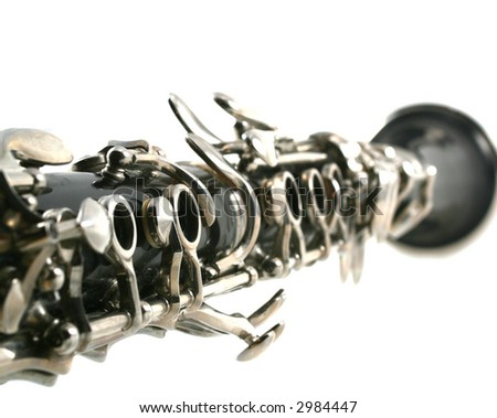 Looking down the barrel of a clarinet