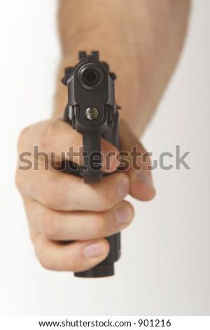 Looking down the barrel of a gun