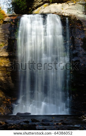 Looking Glass Falls in North Carolina