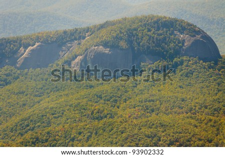 Looking Glass Rock mountain