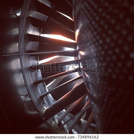 Looking inside the new Leap jet engine on A320NEO