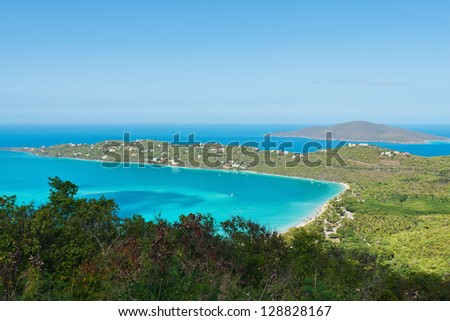 Looking out over St. Thomas, Virgin Islands