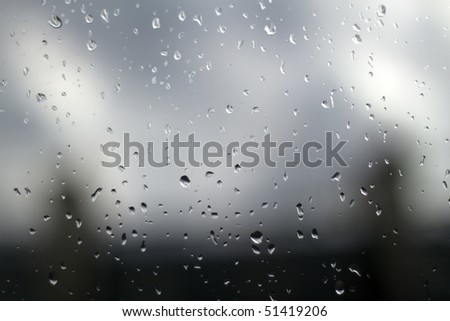 rainy day wallpaper.  out the window on a rainy day.