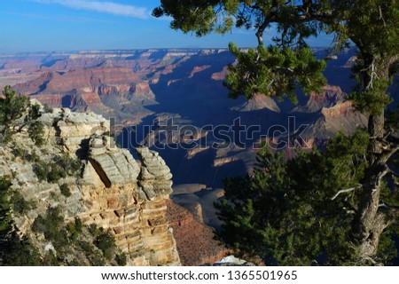 Lookout from Yavapai Point Grand Canyon