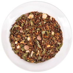 Loose tea on saucer top view specialty teas