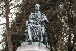 Lord Ardilaun statue Saint Stephen's Green Dublin Ireland