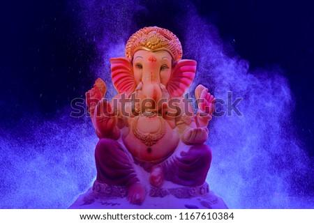 Lord Ganesha , Ganesh festival - Shutterstock ID 1167610384