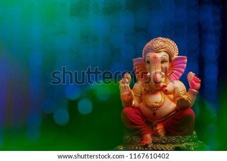 Lord Ganesha , Ganesh festival - Shutterstock ID 1167610402