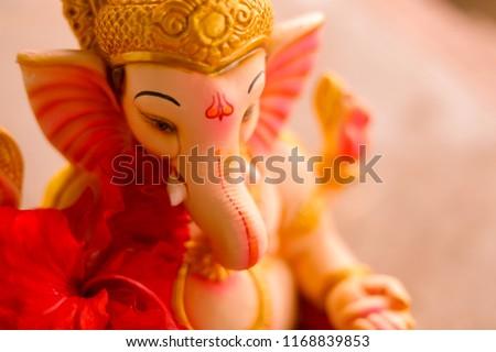 Lord Ganesha , Ganesh festival - Shutterstock ID 1168839853
