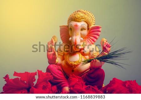 Lord Ganesha , Ganesh festival - Shutterstock ID 1168839883
