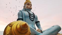 Lord Hanuman is a Hindu God and companion of Lord Rama. Lord Hanuman is one of the central character of th Ramayana. Lord Hanuman is son of Wind God Vayu.