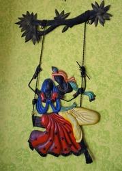 Lord Krishna and Radha.