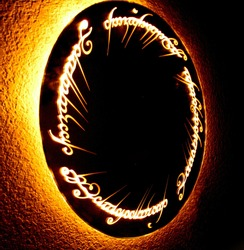 Lord of the Rings illumination for the hallway