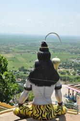 lord Siva statue located at Kotappakonda