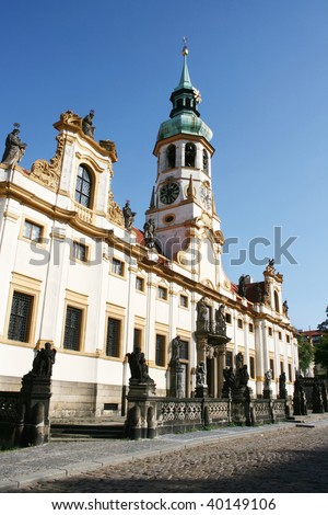 Loreta Church in Prague. Czech Republic