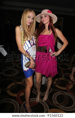 Lorielle New, Phoebe Price at the L.A. Fashion Industry Makes A Difference for Israel runway fashion show, Century Plaza Hotel, Century City, CA. 05-12-11
