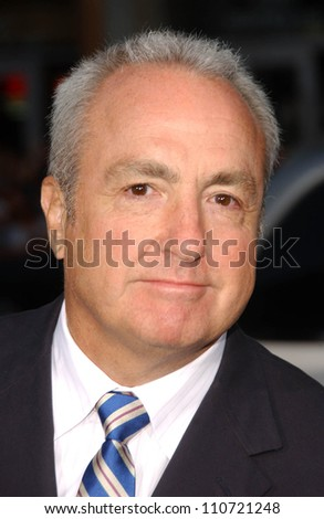 """Lorne Michaels at the Los Angeles Premiere of """"Hot Rod"""". Mann's Chinese Theater, Hollywood, CA. 07-26-07"""
