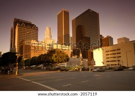 Los Angeles - stock photo