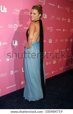 LOS ANGELES - APR 18:  Ali Fedotowsky arrives at the 2012 US Hot Hollywood Party  at Greystone Manor on April 18, 2012 in Los Angeles, CA - stock photo