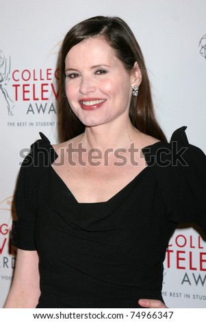 geena davis now. 9: Geena Davis arriving at