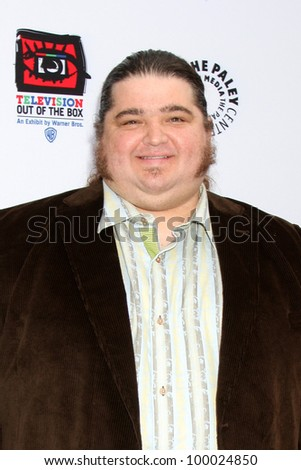 "LOS ANGELES - APR 12:  Jorge Garcia arrives at Warner Brothers ""Television: Out of the Box"" Exhibit Launch at Paley Center for Media on April 12, 2012 in Beverly Hills, CA"