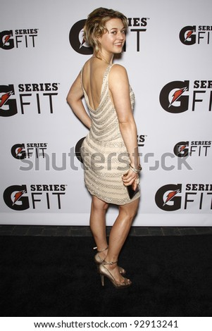 LOS ANGELES - APR 12:  Lauren Froderman at the 'Gatorade G Series Fit Launch Event' at the SLS Hotel in Los Angeles, California on April 12, 2011.